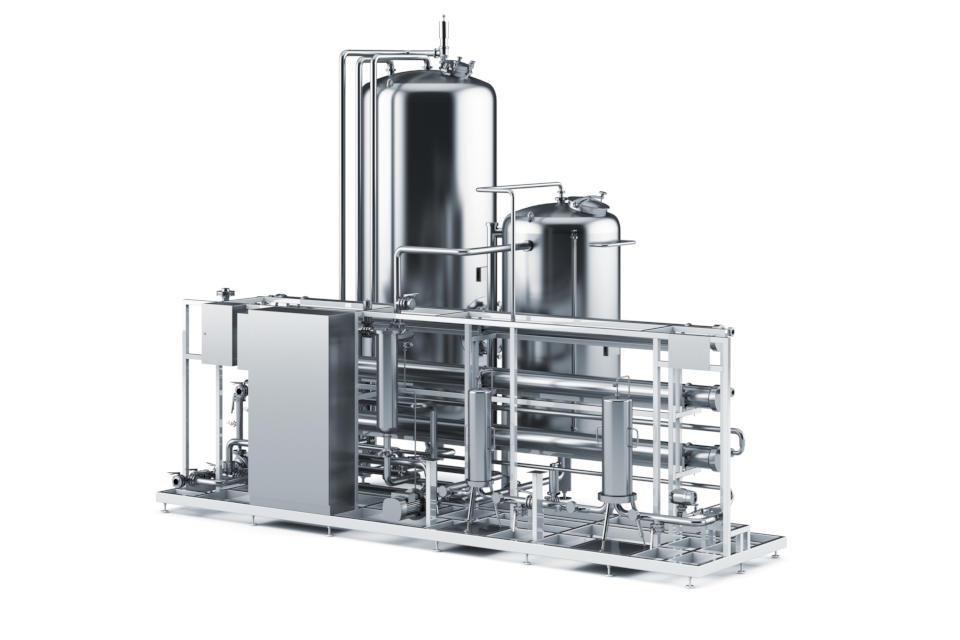 Chemische Anlage, Brehm Isoliertechnik GmbH, Kastl